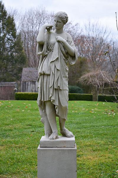 A Fine Stoneware Figure of Diana de Gabii
