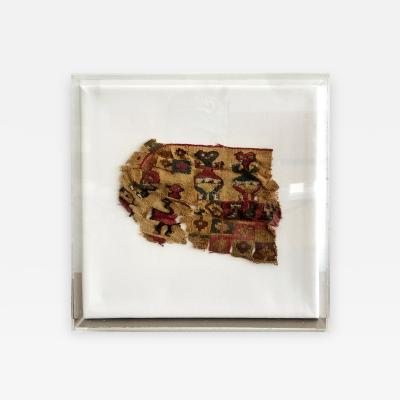 A Framed Pre Columbian Antique Textile