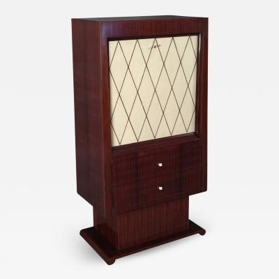 A French Art Deco and Rosewood Fall Front Desk