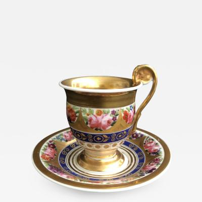 A French Cabinet Cup and Saucer