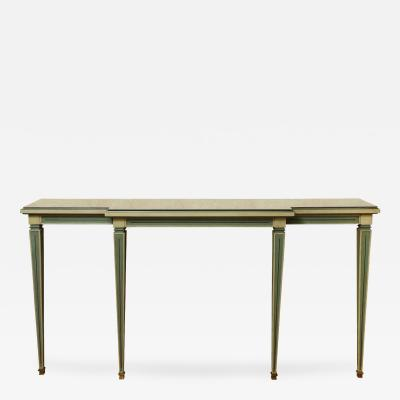 A French Custom Made Wall Mounted Console Table