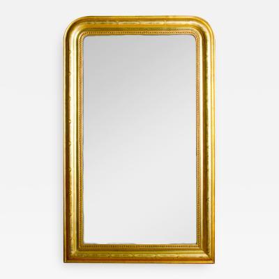 A French Louis Philippe giltwood mirror circa 1830