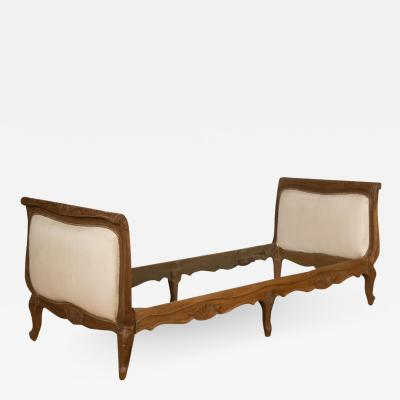 A French Louis XV style day bed circa 1950
