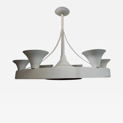 A French Moderne Style Chandelier