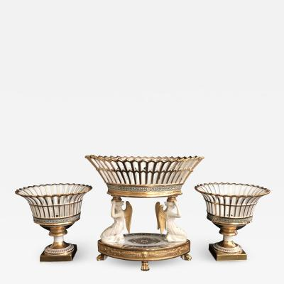 A French Set of Corbeilles