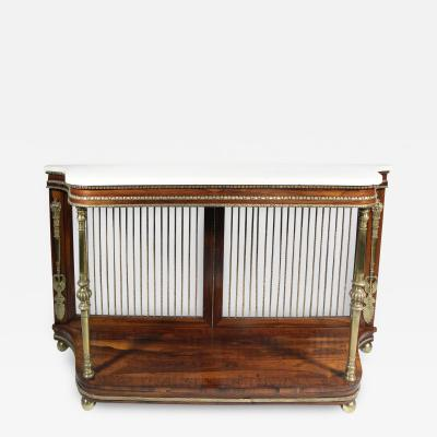 A GEORGE IV ROSEWOOD CONSOLE