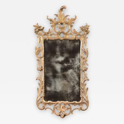 A George III Giltwood Mirror
