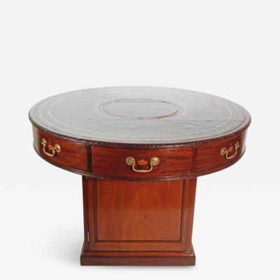 A George III Mahogany Library Rent Table