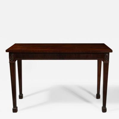 A George III Mahogany Serving Table 18th Century
