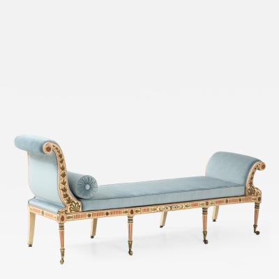 A George III Painted Daybed
