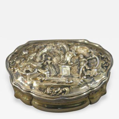 A Gilt Silver Snuffbox