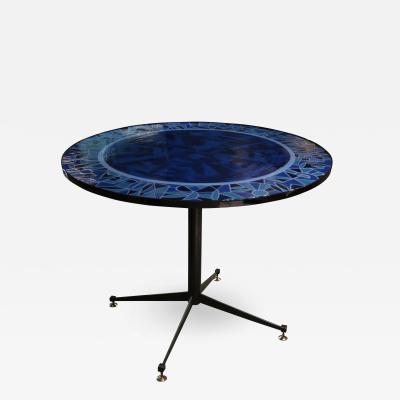 A Glazed Ceramic Table Italy 1960