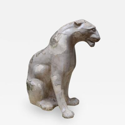 A Glazed Stonewere Panther France 1940