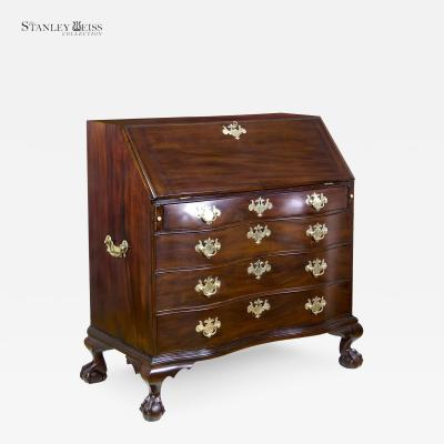 A Grand Chippendale Mahogany Desk Boston c 1780