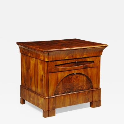 A Handsome Biedermeier Four Drawer Commode