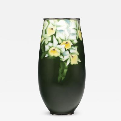 A Japanese cloisonne vase by Ando mid Showa period