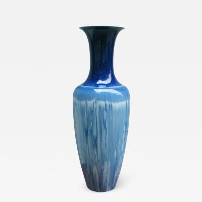 A KPM Tall Porcelain Vase