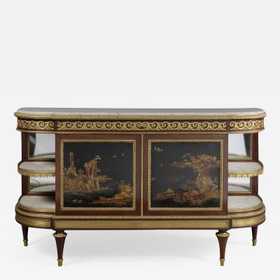 A Louis XVI Style Lacquer Commode