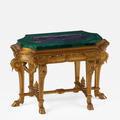 A Louis XVI Style Miniature Center Table Russian 19th C