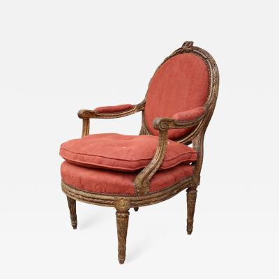 A Louis XVI armchair France XVIIIth century