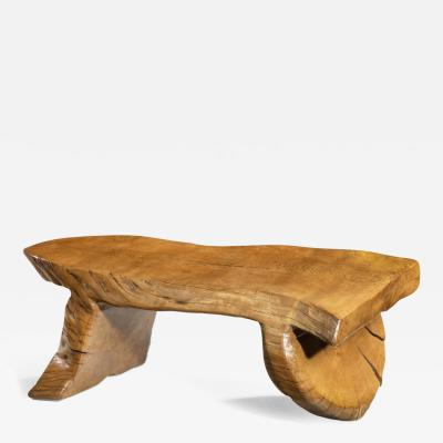 A Low Maxie Lane elm Coffee Table