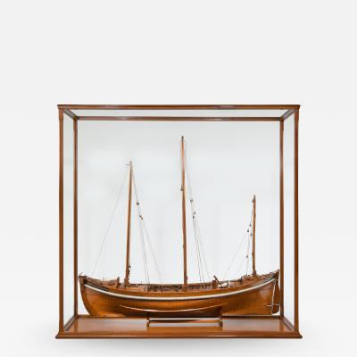 A Lugger lifeboat model by Twyman for the International Exhibition London 1862