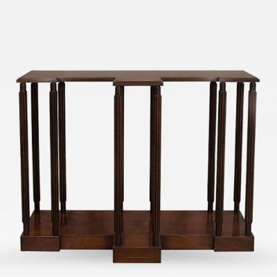 A Mahogany Model Stand or Console Table designed by Sir John Soane