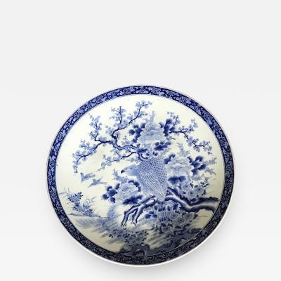 A Massive Antique Japanese Arita Porcelain Plate
