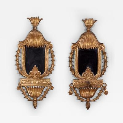 A Matched Pair of Neoclassical Girandoles Italian ca 1800