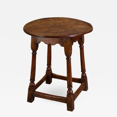 A Mid 18th Century Small Oak Tavern Table