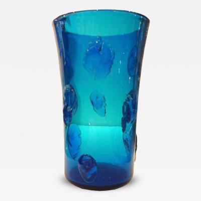 A Mid Century Hand Blown Glass Vase