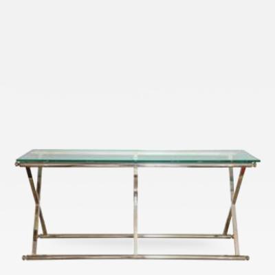 A Modern X Frame Table