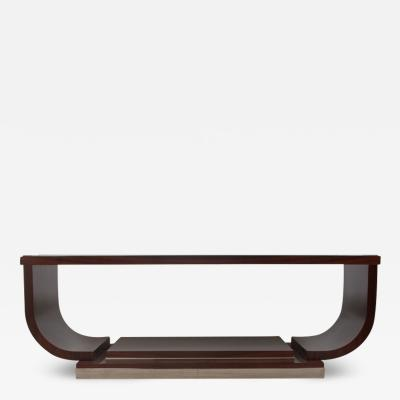 A Modernist Style Parchment Top Coffee Table by Iliad Design