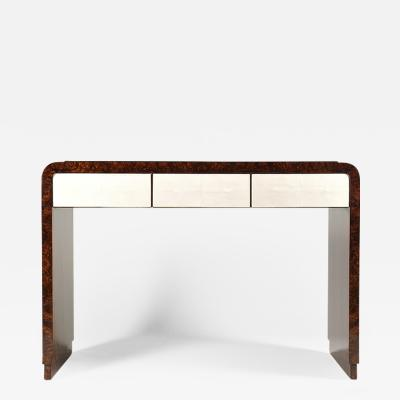 A Modernist Three Drawer Console by Iliad