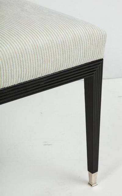 A Modernist bench with contemporary design