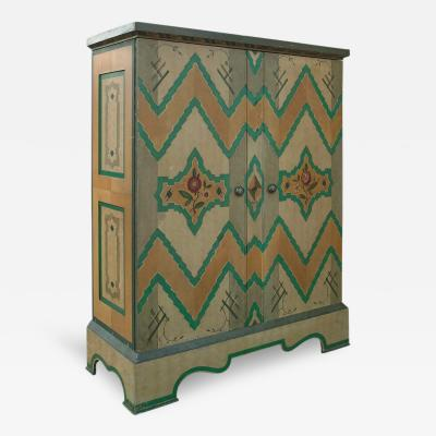 A Painted Armoire