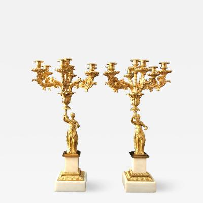 A Pair of Classical Candelabra