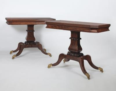 A Pair of Classical Games Tables