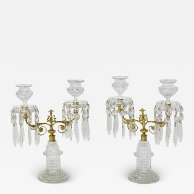 A Pair of Early 19th Century English Candelabra