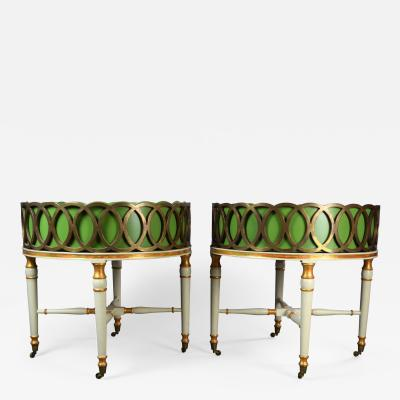 A Pair of Exceptional Regency Style Jardinieres