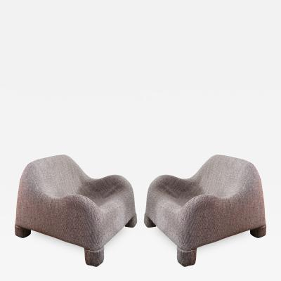 A Pair of Lounge Chairs Italy 1960