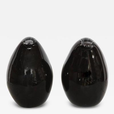 A Pair of Mid Century Modern Murano Glass Badgers