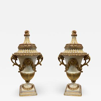 A Pair of Neoclassic Urns