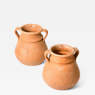 A Pair of Terra Cotta Pots