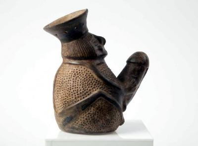 A Pre Columbian Erotic Pottery from the Chimu Culture