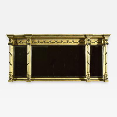 A Regency Overmantle Mirror