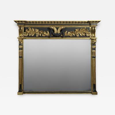 A Regency Overmantle Mirror