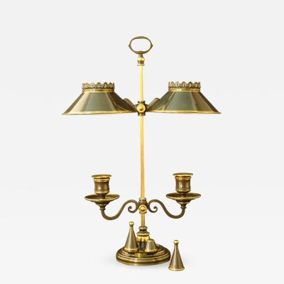 A Regency Student Lamp