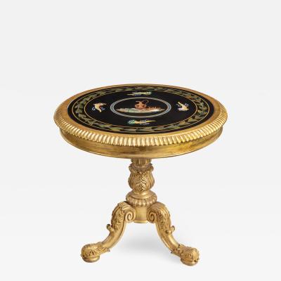 A Regency specimen marble centre table