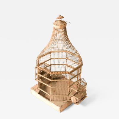 A Rustic Italian Birdcage